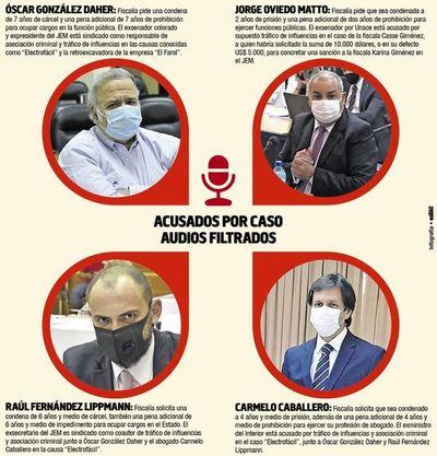 """Tribunal dictaría hoy la sentencia en el caso """"audios filtrados"""" del JEM"""