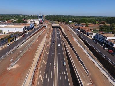 Obras del Multiviaducto de Ciudad del Este cerrarán el año con más de 80% de avance