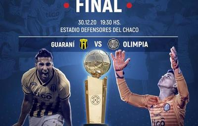Olimpia vs Guaraní: la gran final del Clausura 2020