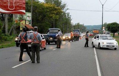 Caminera registró 340 conductores alcoholizados al cierre del Operativo Navidad