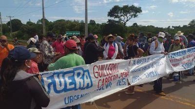 Indígenas piden destitución del funcionario del MAG por supuesto maltrato laboral