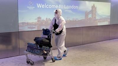 Reino Unido: escasean las camas por el gran aumento de casos de coronavirus