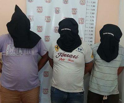 Imputan a tres hombres por rapto y extorsión