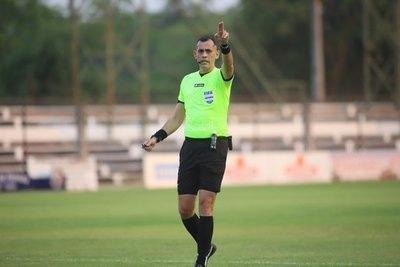 El árbitro paraguayo que estará en las semifinales de la Libertadores