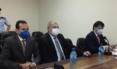Jorge Oviedo Matto fue absuelto por el Tribunal de Sentencia en el caso audios.