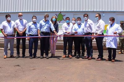 Con presencia de Abdo y Cartes, inauguran primera UTI en Paraguarí