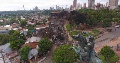 La Nación / Buscarán darles viviendas en otro lugar a afectados