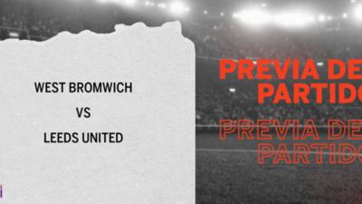 West Bromwich recibirá  a Leeds United por la Fecha 16