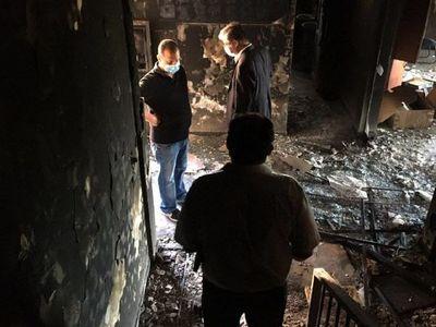 Peritaje inicial evalúa daños tras incendio en  El Cabildo