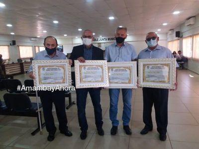 Junta Municipal reconoció la labor de Artistas y Deportistas Pedrojuaninos