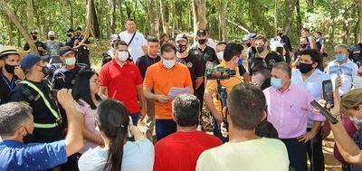 Prieto frustra intención de Mbururu de apropiarse de un terreno municipal