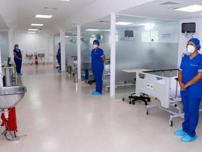 Por primera vez, Hospital Regional de Paraguarí habilitó camas de terapia intensiva · Radio Monumental 1080 AM