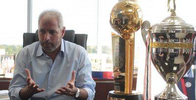 Zapag habla del refuerzo que busca Cerro y explica la continuidad de Dos Santos