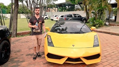 """Brasileño compró Lamborghini de """"Cucho"""" por G. 400 millones"""
