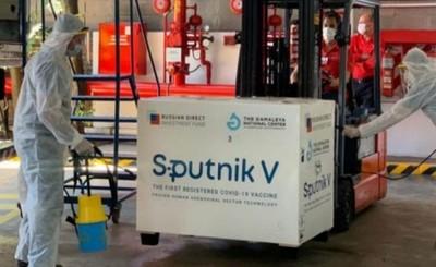 Personal de blanco de Puerto Iguazú recibe primera dosis del Sputnik V
