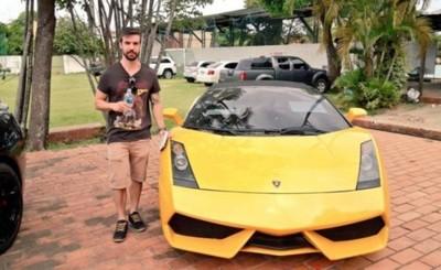 Por G. 411 millones, brasileño compra el Lamborghini de Cucho