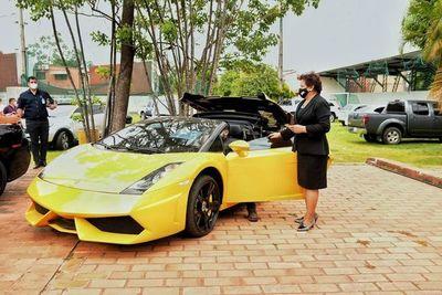 """El Lamborghini de """"Cucho"""" fue vendido por más de G. 400 millones"""