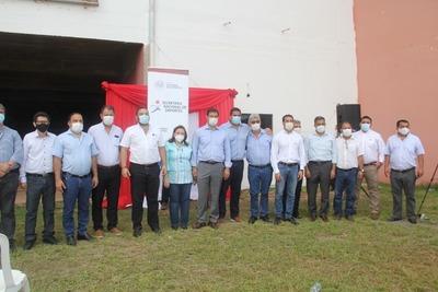 Inician obras para remodelación del Estadio Ovetenses Unidos de Coronel Oviedo