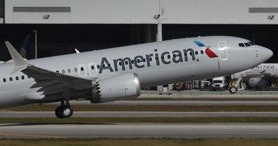 La Nación / Despega de Miami un Boeing 737 MAX, su primer vuelo comercial en EEUU en casi dos años