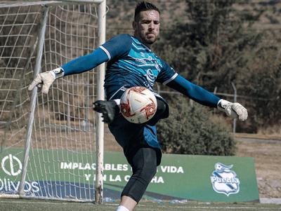 Antony Silva ya entrena con el Puebla