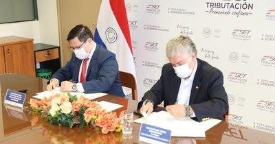 La Nación / Tributación y la CAP firman un convenio