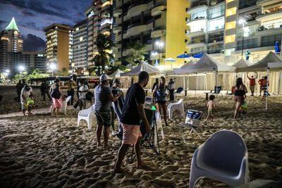 Refuerzan medidas de prevención con cierre de playas en balneario de Acapulco