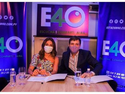 Estación 40 presentó a Fernanda Aguilar