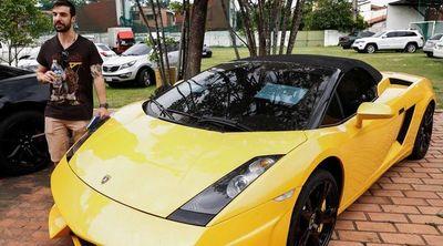 "Senabico vendió coche Lamborghini de ""Cucho"" Cabaña en G. 411 millones"