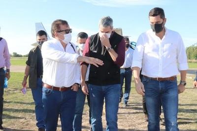 Presidente habilitará nuevo pabellón de contingencia en Itaugua y mejoras en San Jorge.