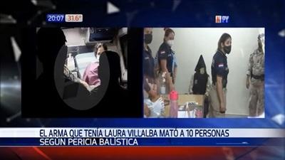 Arma de Laura Villalba fue utilizada en 10 homicidios, según Fiscalía