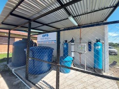 USF General Bruguez cuenta con nueva planta potabilizadora para beneficio de 3.500 pobladores