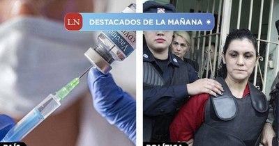 La Nación / Destacados de la mañana del 30 de diciembre