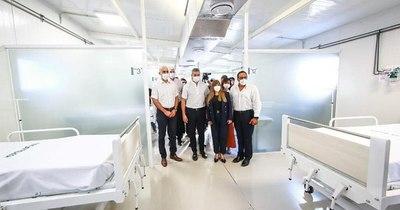 La Nación / Desde Itauguá evalúan la gestión de Salud y destacan nuevo pabellón en el Hospital Nacional