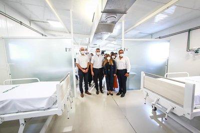 Gobierno inaugura pabellón de contingencia en Hospital de Itauguá con 109 camas