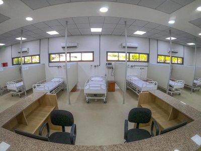 Mario Abdo habilitó nueva infraestructura y equipamiento del Hospital San Jorge