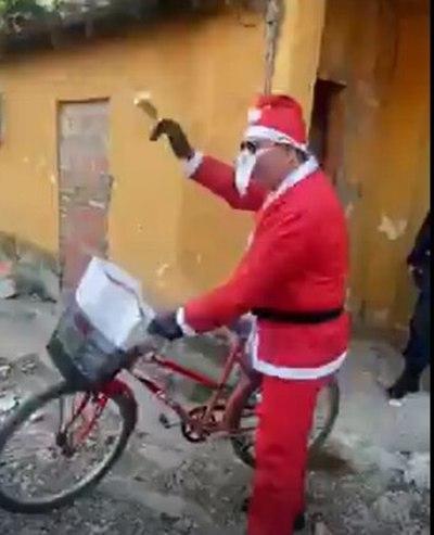 """Un jefe """"Papá Noel"""""""