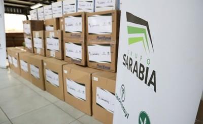 Importantes contribuciones del Grupo Sarabia para el Hospital Regional