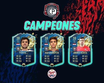 APF eSports: ¡Cerro Porteño es tricampeón de la eCopa!
