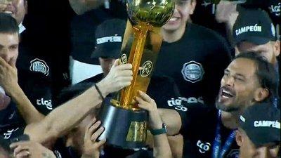 Olimpia nuevamente campeón