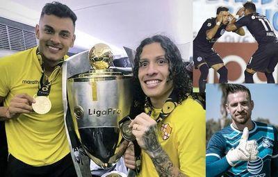 Paraguayos campeones