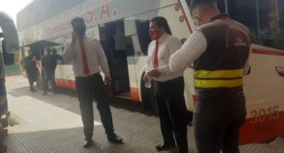 Año Nuevo: Escasa cantidad de pasajeros en buses rumbo al interior