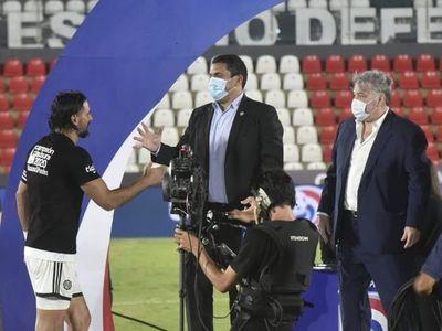 """""""Hay que felicitar a Cerro y a Olimpia, los más grandes de nuestro fútbol"""""""