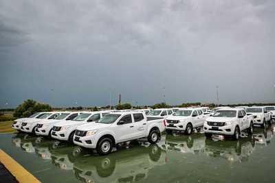 MAG incorpora vehículos para trabajos de asistencia técnica y censo agropecuario