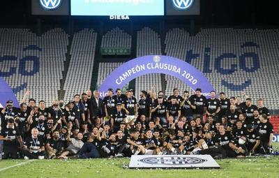 Olimpia se consagra campeón del Clausura 2020