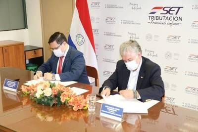 SET Y CAP: Instituciones firmaron un convenio para combatir la evasión de los impuestos