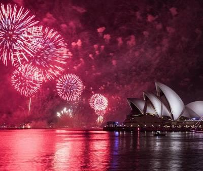 Así celebra el mundo la llegada del nuevo año