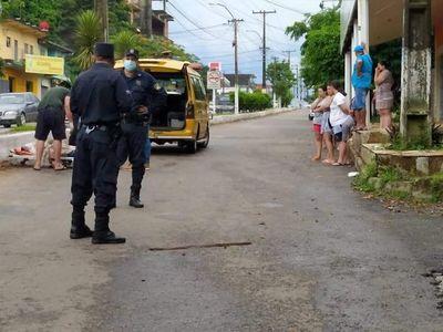 Buscan a conductor que atropelló y abandonó a su víctima en Villarrica