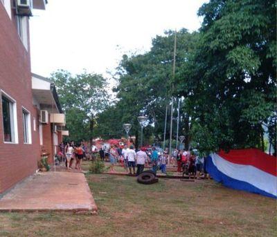 Fiscalía pide acordonamiento de local municipal de Jesús de Tavarangue