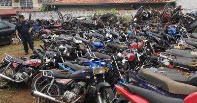 La Nación / Propietarios de motocicletas demoradas tienen 30 días para recuperarlas