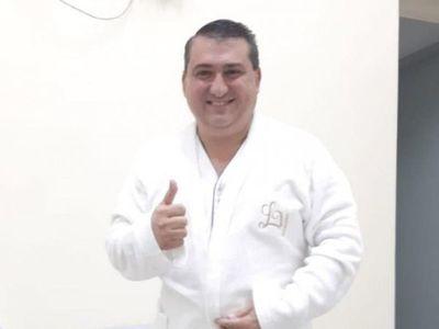 """Así despidió el intendente de Encarnación el """"año del bicho"""""""